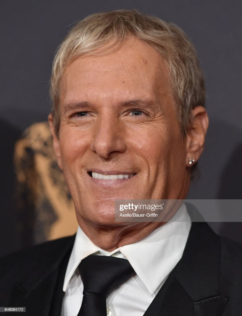 Singer Michael Bolton arrives at the 2017 Creative Arts Emmy Awards at Microsoft Theater on September 9, 2017 in Los Angeles, California.