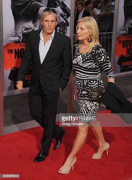 Singer Michael Bolton arrives at the Los Angeles premiere of 'The November Man' at TCL Chinese Theatre on August 13 2014 in Hollywood California