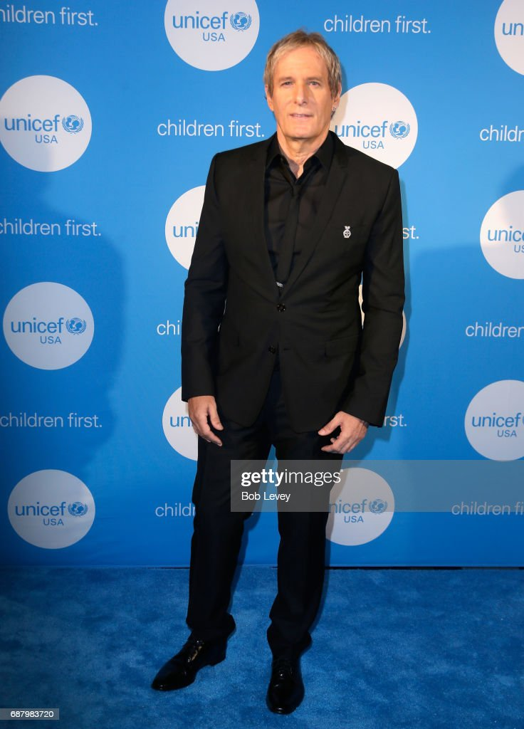Singer Michael Bolton at the fourth annual UNICEF Audrey Hepburn® Society Ball on May 24, 2017 in Houston, Texas.