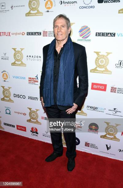 Singer Michael Bolton attends the 10th annual Guild of Music Supervisors Awards at The Wiltern on February 06, 2020 in Los Angeles, California.