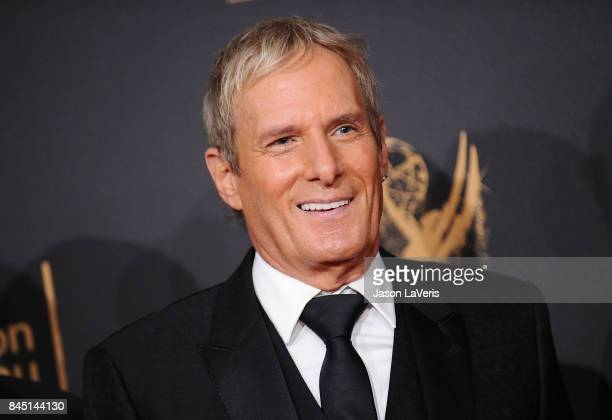 Singer Michael Bolton attends the 2017 Creative Arts Emmy Awards at Microsoft Theater on September 9 2017 in Los Angeles California