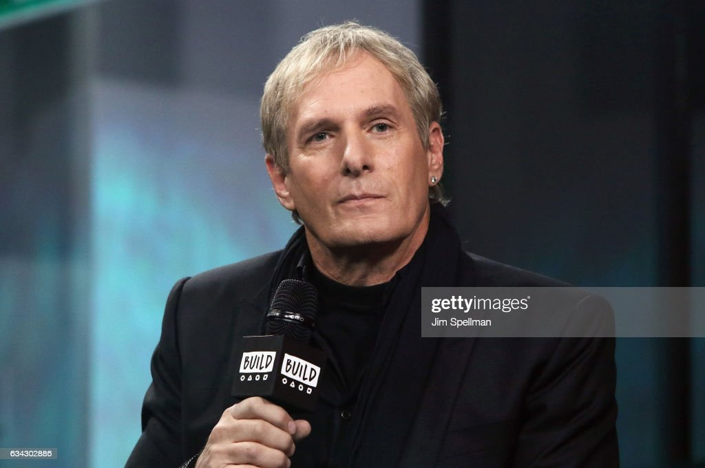 Singer Michael Bolton attends the Build series to discuss 'Michael Bolton's Big Sexy Valentine's Day Special' at Build Studio on February 8, 2017 in New York City.