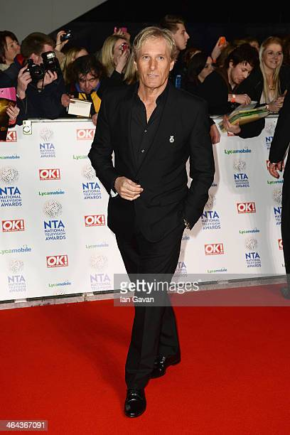 Singer Michael Bolton attends the National Television Awards at 02 Arena on January 22 2014 in London England