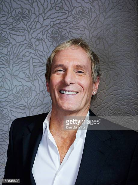 Singer Michael Bolton is photographed for the Independent on March 27, 2013 in London, England.