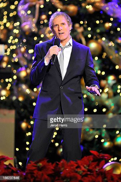 singer michael bolton performs at a hollywood christmas celebration at the grove on november 11 2012 - Michael Bolton Christmas