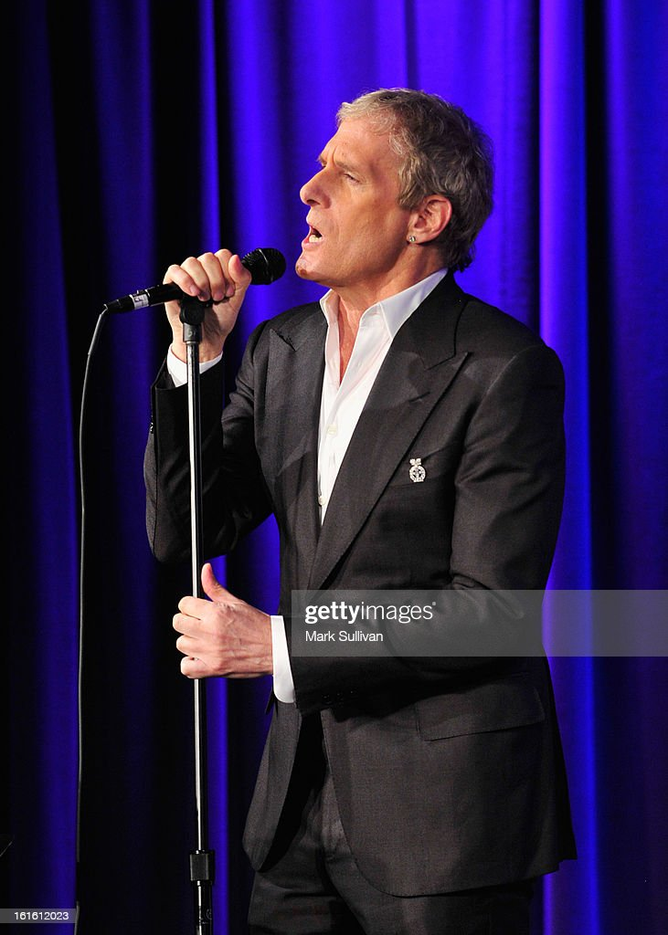 Singer Michael Bolton performs during An Evening With Michael Bolton at The GRAMMY Museum on February 12, 2013 in Los Angeles, California.