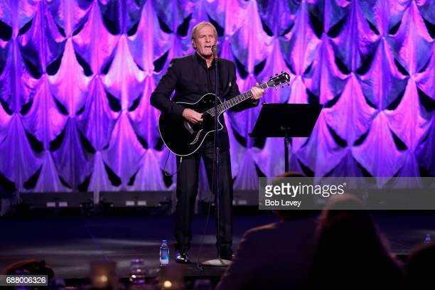 Singer Michael Bolton performs onstage at the fourth annual UNICEF Audrey Hepburn® Society Ball on May 24 2017 in Houston Texas