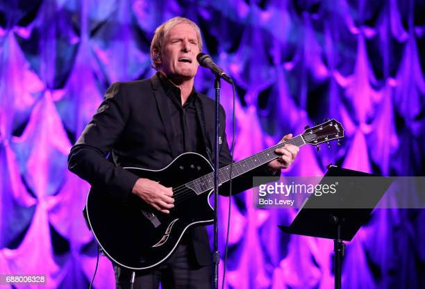 Singer Michael Bolton performs onstage at the fourth annual UNICEF Audrey Hepburn® Society Ball on May 24, 2017 in Houston, Texas.
