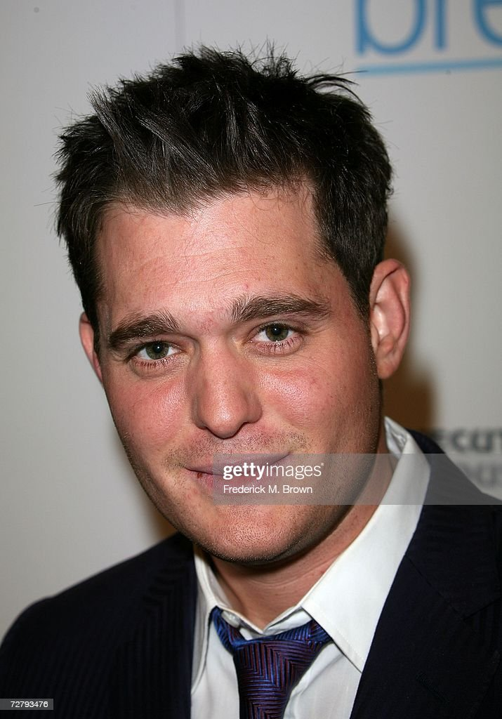 Singer Michael Buble arrives at the Hollywood Life magazine's 6th Annual Breakthrough Awards held at Henry Fonda Music Box Theatre on December 10, 2006 in Hollywood, California.