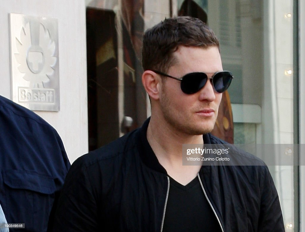 COVERAGE** Singer Michael Buble is seen on May 23, 2010 in Milan, Italy.