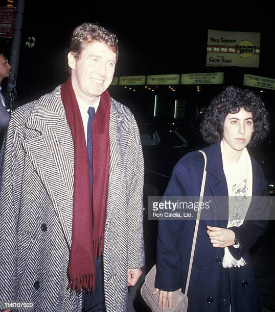 Singer Michael Crawford attends the performance of 'Phantom of the Opera' at the Majestic Theater on January 19 1988 in New York City