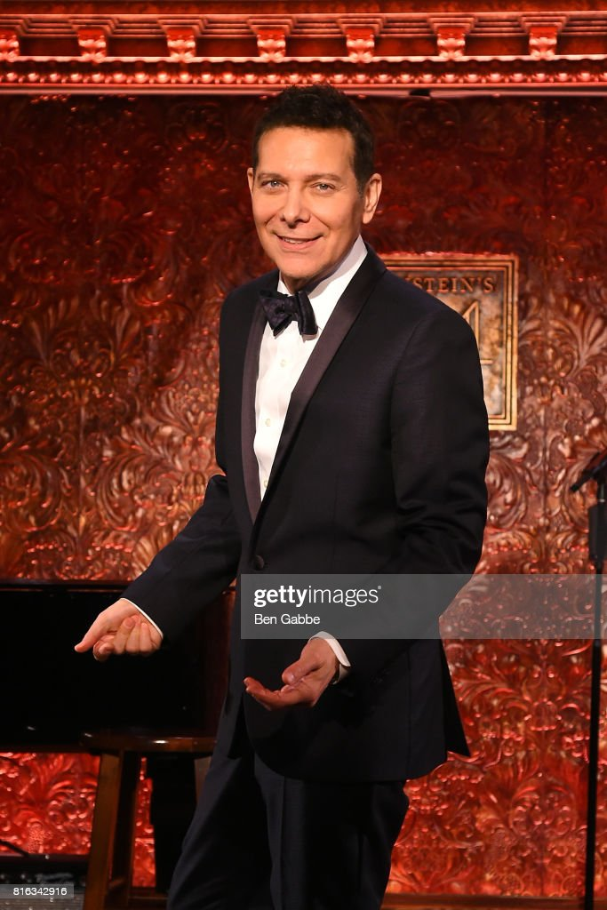 Singer Michael Feinstein attends Feinstein's/54 Below Press Preview at 54 Below on July 17, 2017 in New York City.