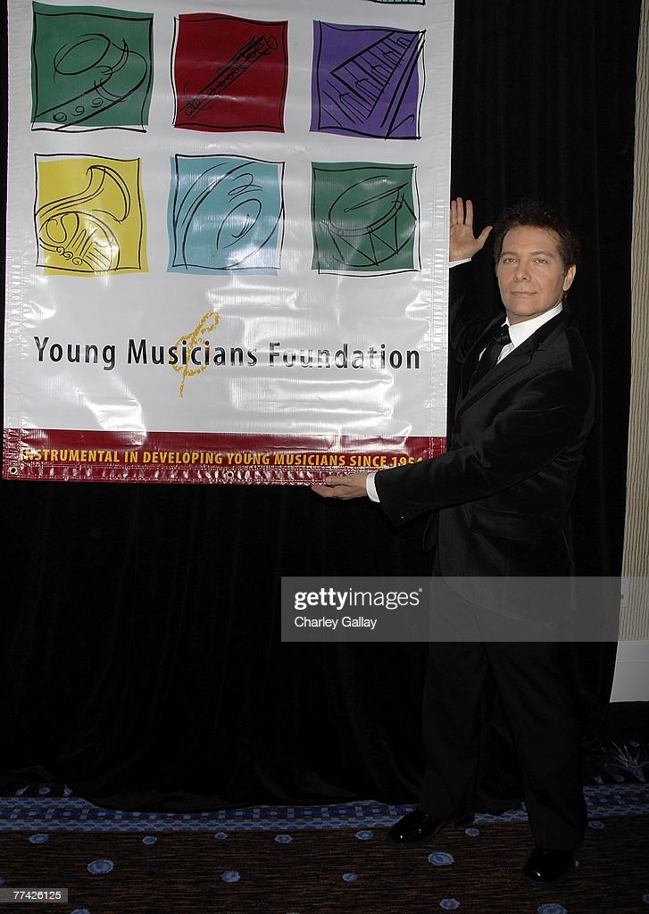 Singer Michael Feinstein attends the 53rd Annual Young Musicians Foundation Gala, celebrating Merv Griffin, at the Beverly Hilton hotel on October 19, 2007 in Los Angeles, California.
