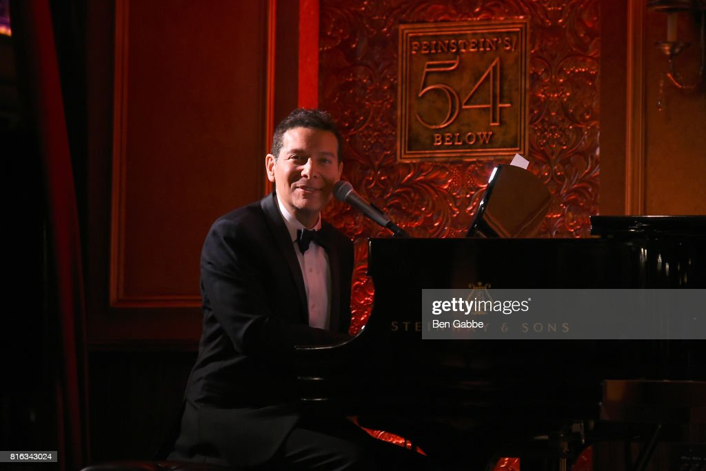 Singer Michael Feinstein performs during Feinstein's/54 Below Press Preview at 54 Below on July 17, 2017 in New York City.