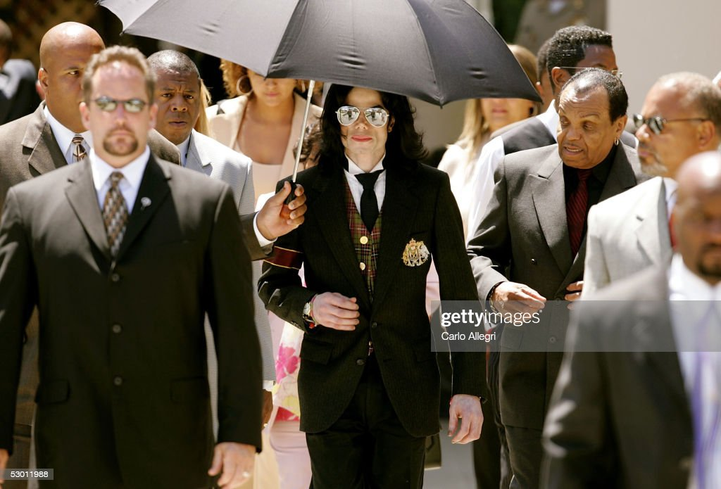 Michael Jackson Trial Continues : News Photo
