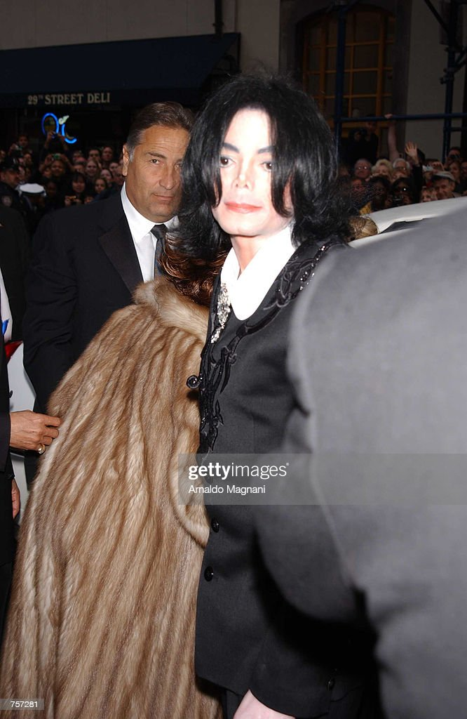 Singer Michael Jackson Attends The Wedding Of Liza Minnelli To Producer David Gest At Marble Collegiate