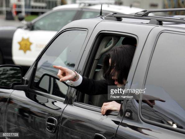 Fantastic Singer Michael Jackson Looks Out The Window Of A Vehicle As Andrewgaddart Wooden Chair Designs For Living Room Andrewgaddartcom
