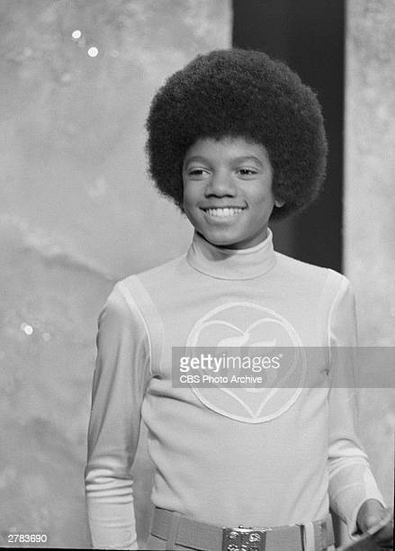 Singer Michael Jackson smiles in a still from 'The Jackson 5 Special' a musical variety television special October 23 1972