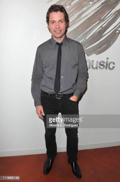 Singer Michael Johns attends An Intimate Evening With David Foster and His Music hosted by peer on April 4 2011 in Burbank California