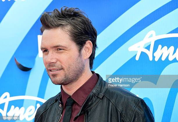 Singer Michael Johns attends Fox's American Idol 2013 Finale Results Show at Nokia Theatre LA Live on May 16 2013 in Los Angeles California