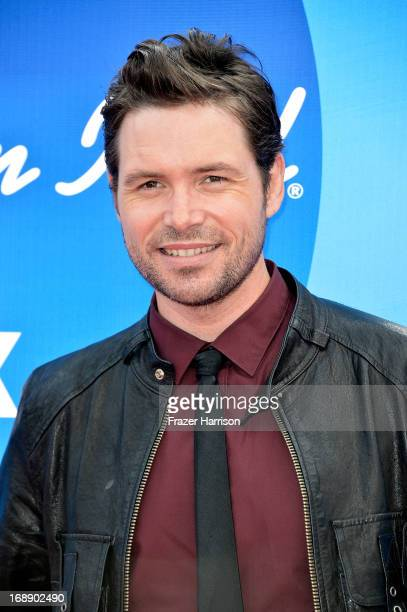 Singer Michael Johns attends Fox's 'American Idol 2013' Finale Results Show at Nokia Theatre LA Live on May 16 2013 in Los Angeles California