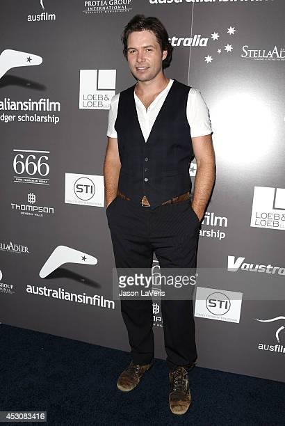 Singer Michael Johns attends the 2011 Australians In Film Breakthrough Awards at Thompson Hotel on June 7 2011 in Beverly Hills California