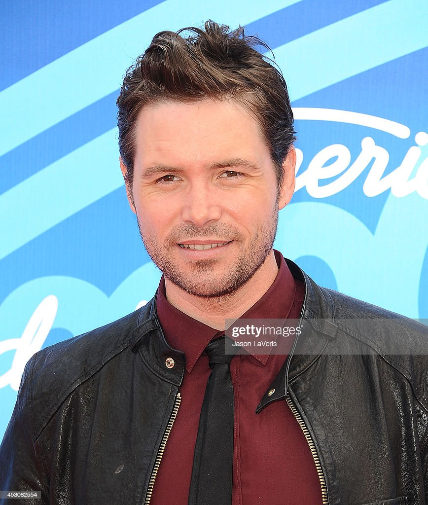 Singer Michael Johns attends the American Idol 2013 finale at Nokia Theatre L.A. Live on May 16, 2013 in Los Angeles, California.