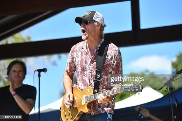 Singer Michael Lennon of the band Venice performs onstage during Topanga Days on May 27 2019 in Topanga California