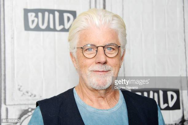 Singer Michael McDonald attends Build to discuss the album 'Wide Open' at Build Studio on October 3 2017 in New York City