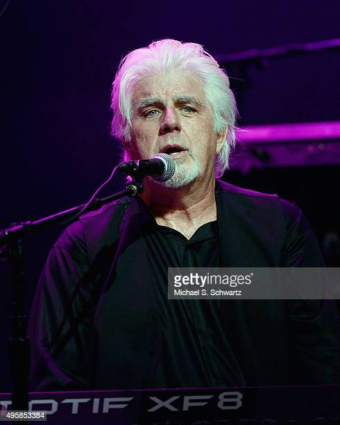 Singer Michael McDonald performs during his appearance at the weSpark Cancer Support Center Benefit Concert 'An Evening with Michael McDonald and...