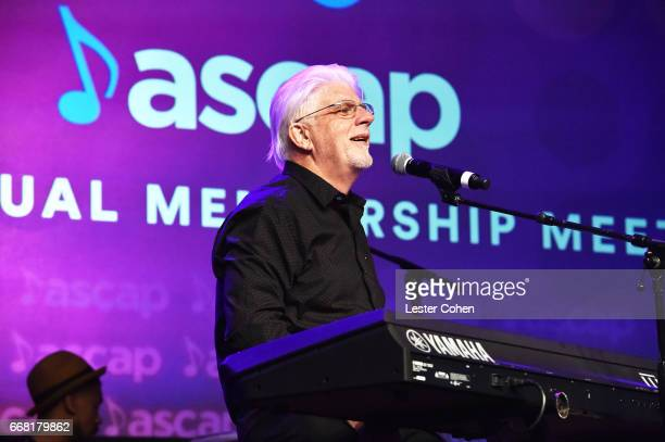 Singer Michael McDonald performs onstage at the ASCAP Annual Membership Meeting and EXPO Kickoff during the 2017 ASCAP 'I Create Music' EXPO on April...