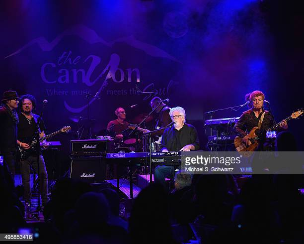 Singer Michael McDonald performs with Ambrosia and Toto during their appearance at the weSpark Cancer Support Center Benefit Concert 'An Evening with...