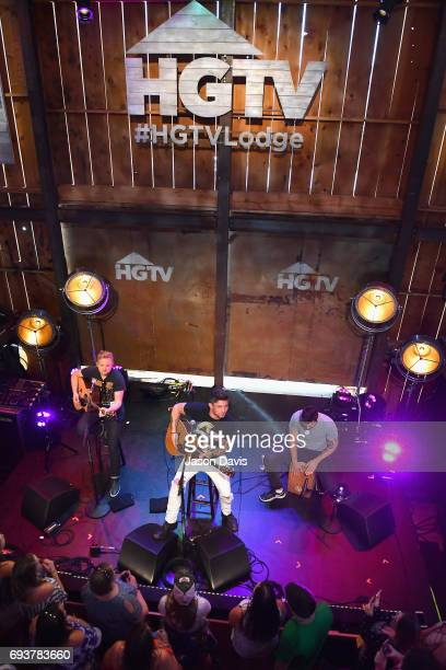 Singer Michael Ray performs onstage at the HGTV Lodge during CMA Music Fest on June 8 2017 in Nashville Tennessee