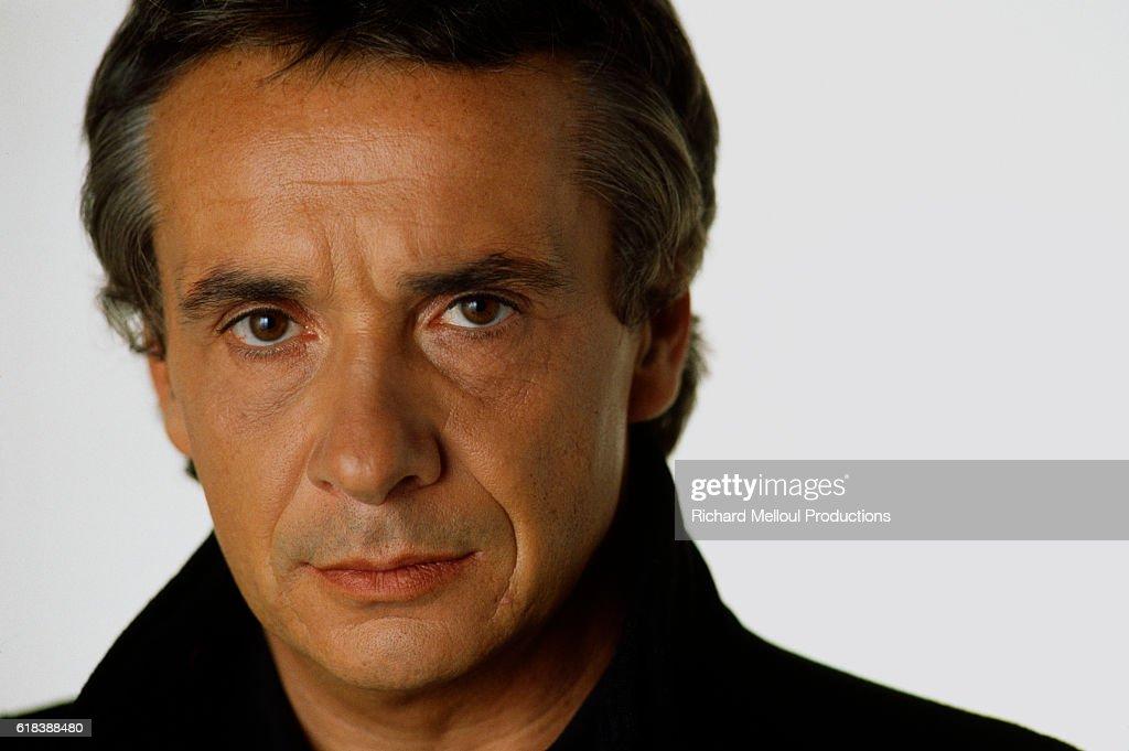 Singer Michel Sardou : Photo d'actualité