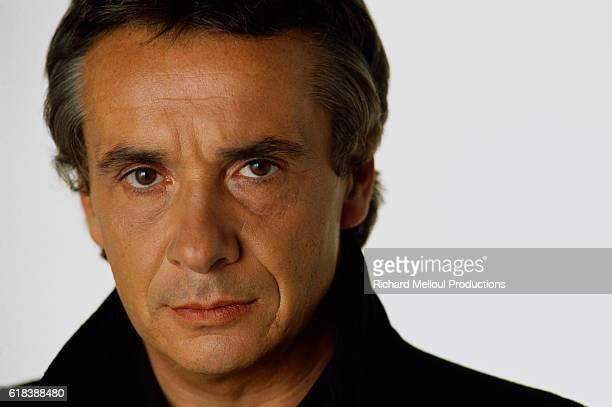 Singer Michel Sardou
