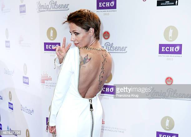 Singer Michelle attends the Echo Award 2015 on March 26 2015 in Berlin Germany