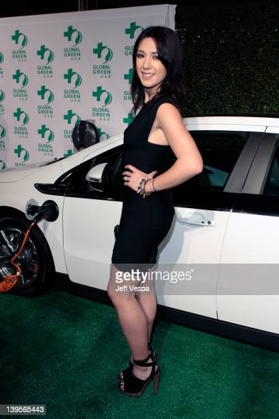 Singer Michelle Branch arrives at Global Green USA's 9th Annual PreOscar Party Supporting Green Schools and Green Communities at Avalon on February...
