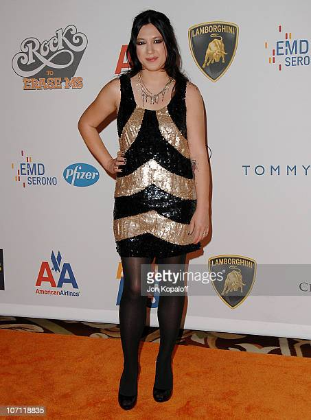 """Singer Michelle Branch arrives at the 16th Annual Race to Erase MS Event - """"Rock to Erase MS"""" at the Hyatt Regency Century Plaza Hotel on May 8, 2009..."""