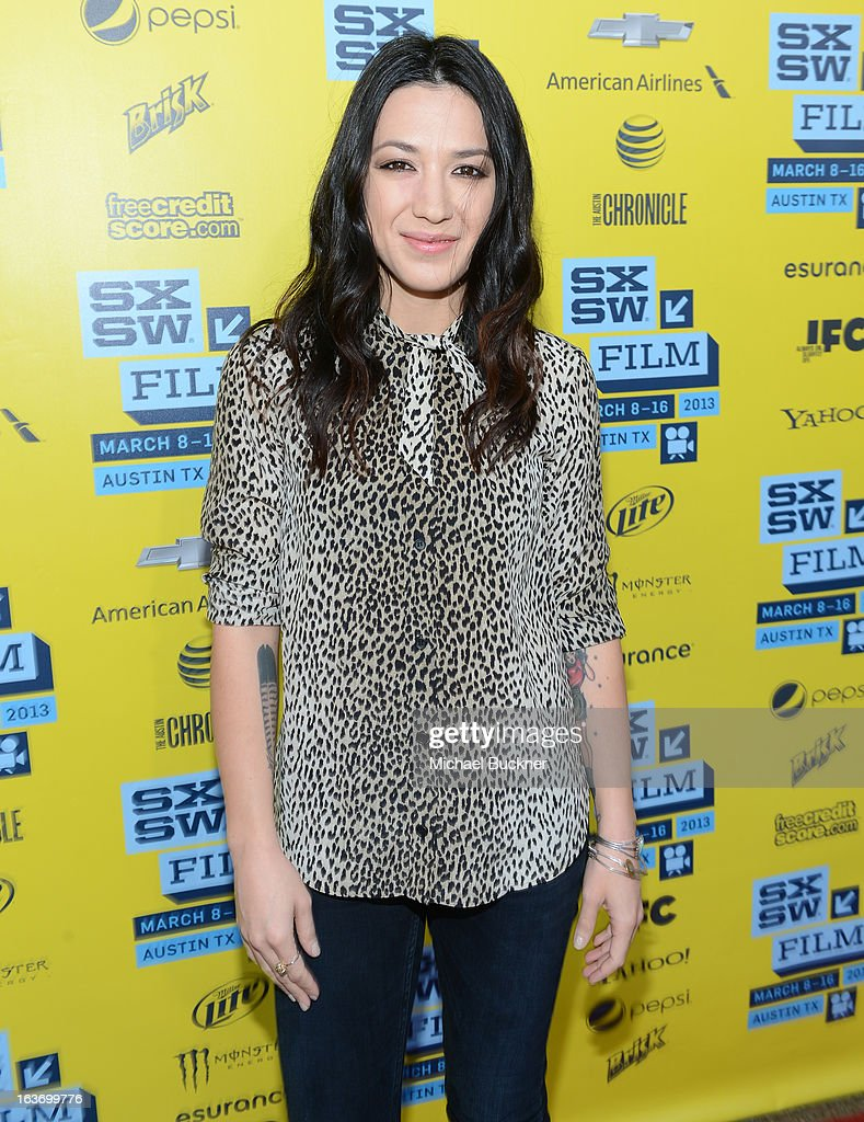 Singer Michelle Branch arrives at the screening of 'In Your Dreams:Stevie Nicks' during the 2013 SXSW Music, Film + Interactive Festival at the Paramount Theatre on March 14, 2013 in Austin, Texas.
