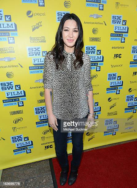 Singer Michelle Branch arrives at the screening of 'In Your DreamsStevie Nicks' during the 2013 SXSW Music Film Interactive Festival at the Paramount...