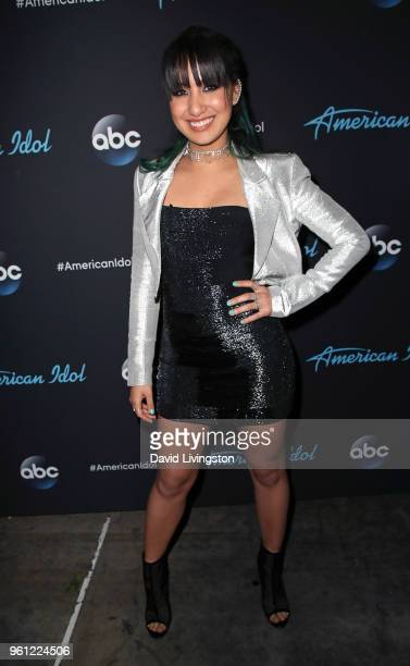 Singer Michelle Sussett attends ABC's 'American Idol' Finale on May 21 2018 in Los Angeles California
