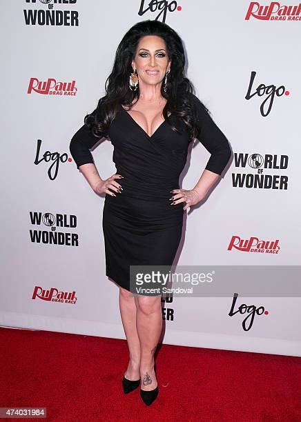 Singer Michelle Visage attends Logo TV's RuPaul's Drag Race season finale event at Orpheum Theatre on May 19 2015 in Los Angeles California