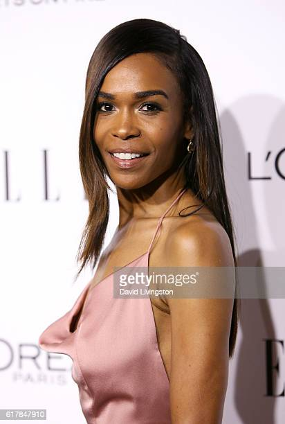 Singer Michelle Williams arrive at the 23rd Annual ELLE Women in Hollywood Awards at Four Seasons Hotel Los Angeles at Beverly Hills on October 24...