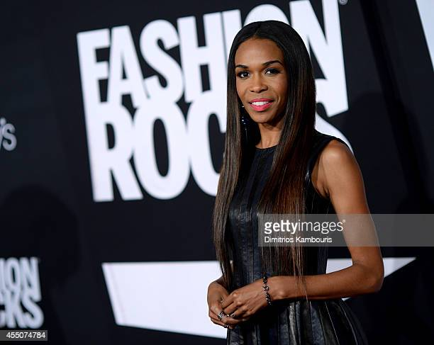 Singer Michelle Williams attends Fashion Rocks 2014 presented by Three Lions Entertainment at the Barclays Center of Brooklyn on September 9 2014 in...