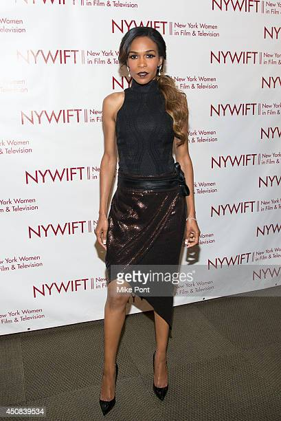 Singer Michelle Williams attends the 2014 New York Women In Film And Television Awards Gala at McGraw Hill Building on June 18, 2014 in New York City.