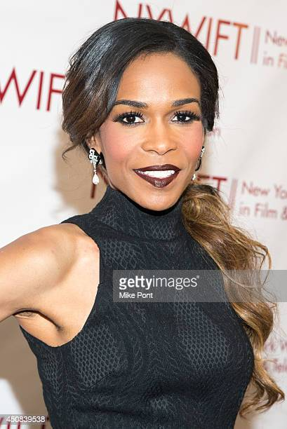 Singer Michelle Williams attends the 2014 New York Women In Film And Television Awards Gala at McGraw Hill Building on June 18 2014 in New York City