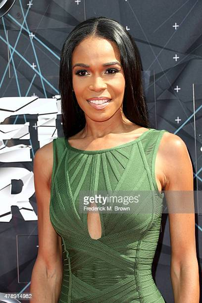 Singer Michelle Williams attends the 2015 BET Awards at the Microsoft Theater on June 28 2015 in Los Angeles California