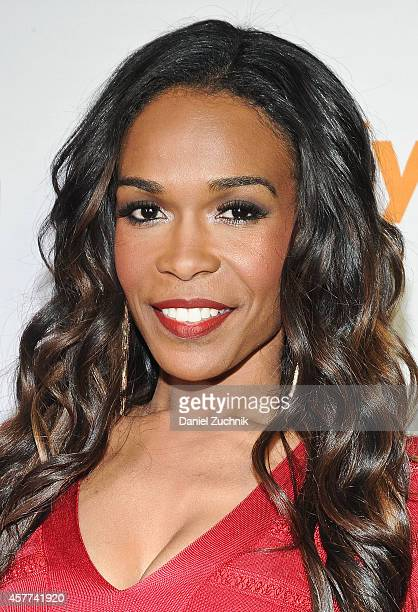 """Singer Michelle Williams attends the """"Fix My Choir"""" Series Party at Blue Water Grill on October 23, 2014 in New York City."""
