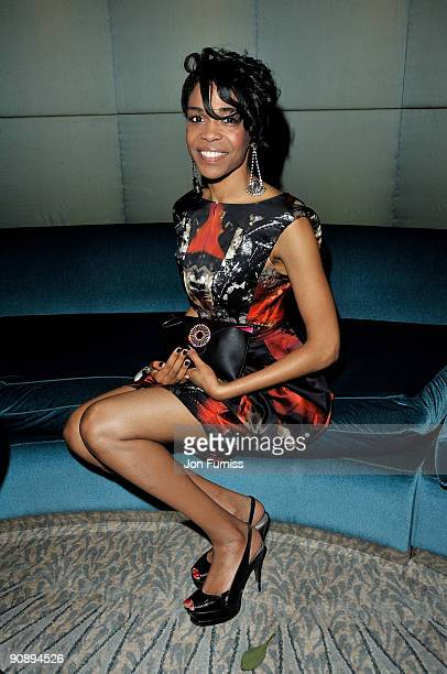 Singer Michelle Williams attends the Ndoro Children's Charities fundraising gala at Dorchester Hotel on September 17, 2009 in London, England.