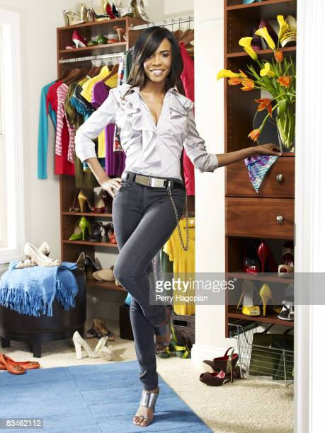 Singer Michelle Williams is photographed for InStyle Magazine on July 15 2008 in New York City